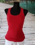 Koszulka Na Ramiączkach Czerwona Bokserka M S