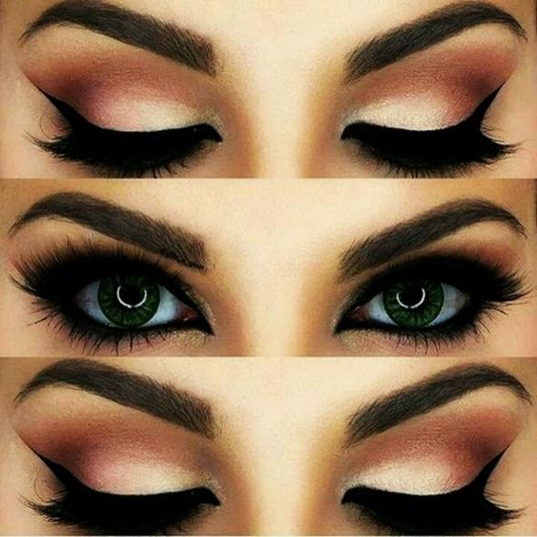 Cat eyes make up