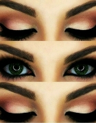 Cat eyes make up