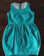 turkusowa sukienka tulipan rozmiar 38