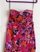 sukienka z zamkiem