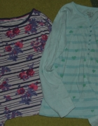 Dwie bluzki Wygodne
