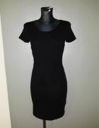 Atmosphere sukienka 34 XS czarna minimalizm...