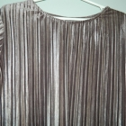 aksamitna plisowana bluzka GLAMOROUS
