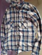 koszula w kratkę