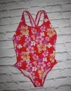 Kwiatowy efektowny strój kąpielowy 128