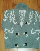 ciepły sweter reserved 122 cm