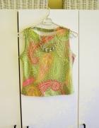 Krótka zielona bluzka