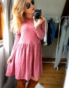 Sukienka bordowa klasyka