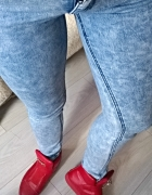 rurki jeans marmurki skiny s...