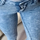 rurki jeans marmurki skiny s