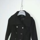 czarny płaszczyk H&M