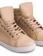 Wysokie trampki sneakersy nowe 38