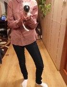fioletowa koszula