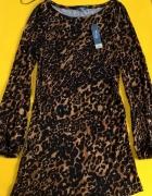 Evie tygrysia sukienka