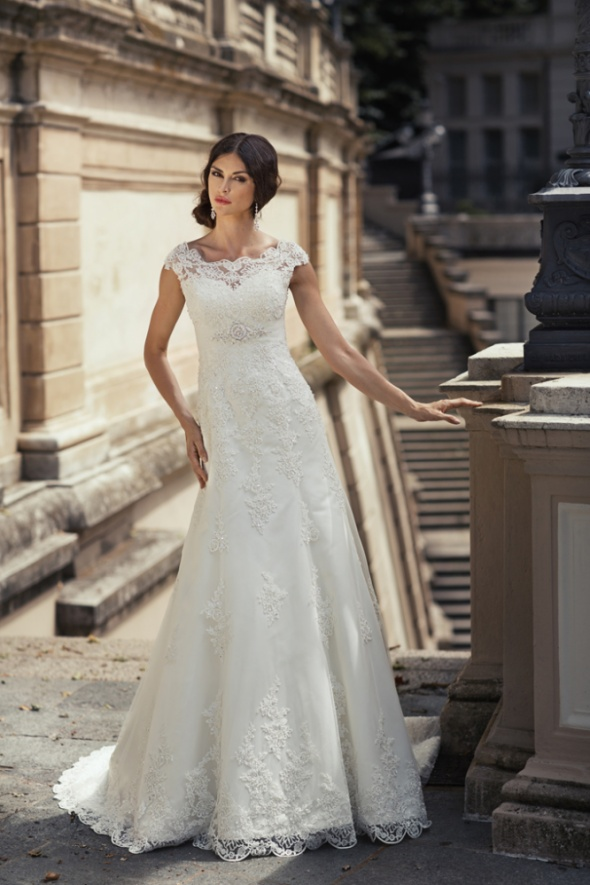 Suknia slubna koronkowa annais bridal danielle...