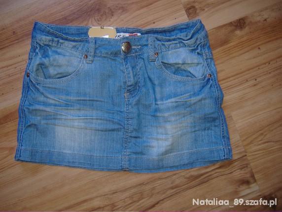 Spódnice Nowa Dżinsowa spódnica MINI 29