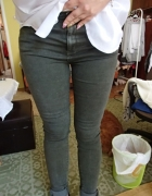 Spodnie tregginsy khaki
