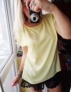 Żółta koszula letnia summer