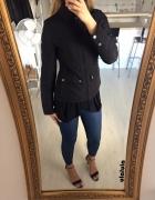 H&M cienka watowana kurtka z kołnierzem minimalizm