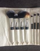 GlamBRUSH zestaw 9 pędzli do makijażu w pokrowcu