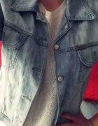 Kurtka jasna jeansowa