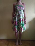 Sukienka w kwiaty rozmiar xl
