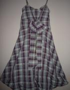 Sukienka bombka z kokardą roz 34...