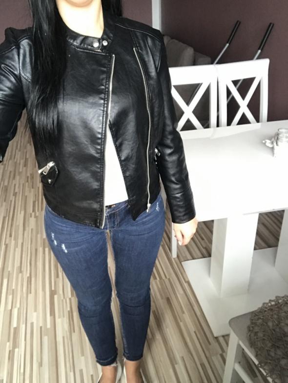 Odzież wierzchnia Ramoneska czarna sinsay nowa