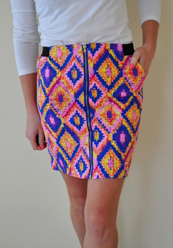 Spódnice Kolorowa spódniczka NOWA