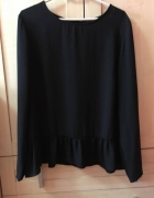 szyfonowa bluzka minimalizm classy elegancka