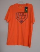 Xersion tshirt męski pomarańczowy neon L USA nowy...