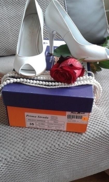 Buty ślubne Buty śłubne Prima Strada rozmiar 35