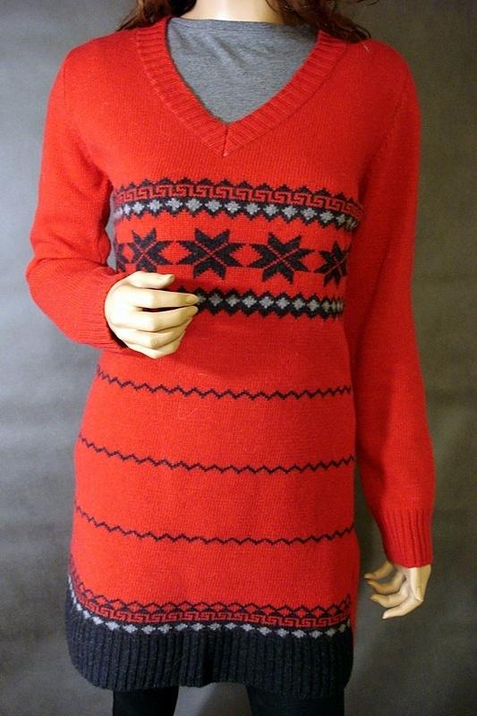 Tuniki sweter tunika