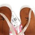 nowe sandały japonki 39 plecionka róż Atmosphere