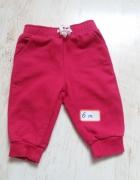 dresowe spodnie dla dziewczynki...