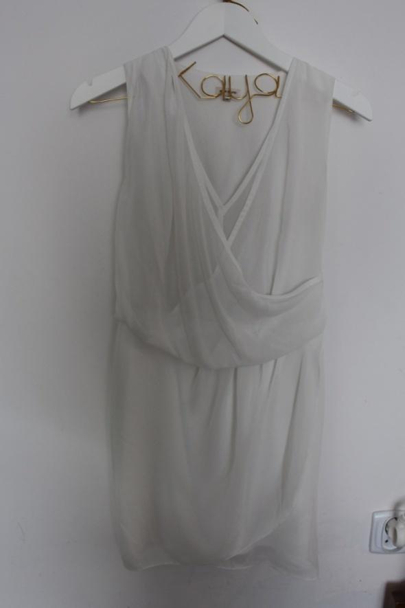 Suknie i sukienki RIVER ISLAND biała sukienka