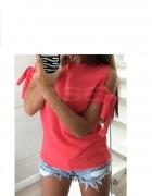 Bluzka rękawy wiązane