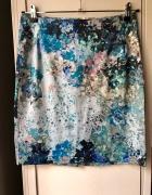 Spódniczka kwiaty h&m modna elegancka wzór