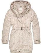 płaszcz zimowy house s beżowy