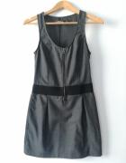Szara sukienka z ZARY...