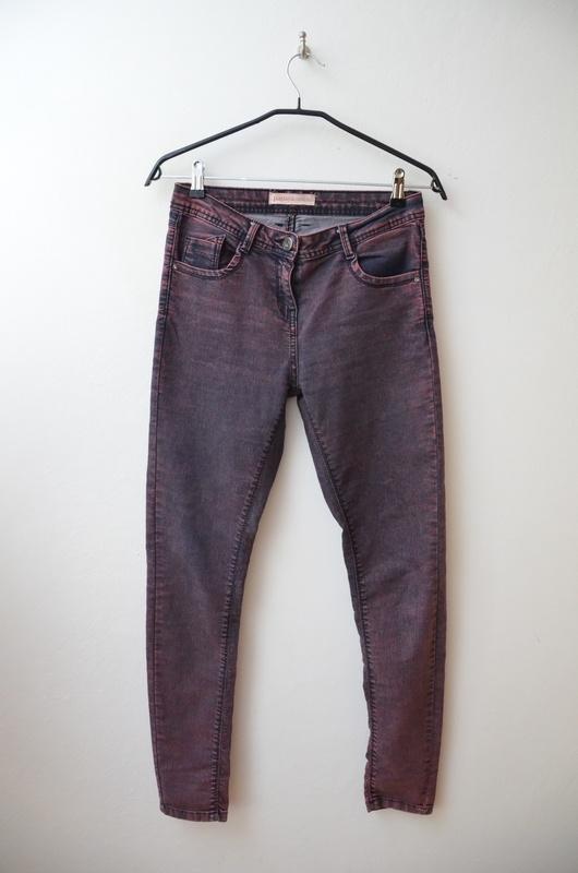 Papaya spodnie rurki ombre jeansy dżinsowe 38...