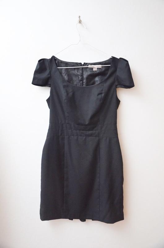 forever21 sukienka mała czarna elegancka 38