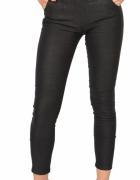 Elastyczne spodnie TREGGINSY guziki CZARNE...