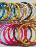 kolorowe bransoletki