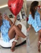 sukienka baby blue
