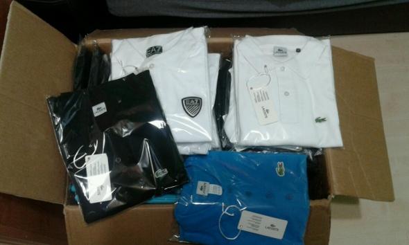 Koszulki i t-shirty Nowe polo Lacoste Armani Hugo Boss M XL