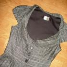Przepiękna nowa sukienka szara 36