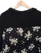 Bluzka tunika w kwiaty rozmiar 42