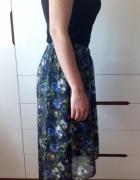 next 12 spódnica asyetryczna niezniszczona kwiaty
